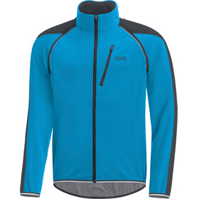 GORE WEAR C3 Windstopper Phantom Zip-Off Jacket Men dynamic cyan/black